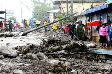 Centroamérica perderá diez mil millones de dólares por fenómenos climáticos
