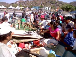 Efecto tsunami en El Salvador será como marea extraordinaria