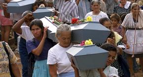 CIDH denuncia a El Salvador por masacre en El Mozote